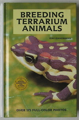Reptile Book  Breeding Terrarium Animals