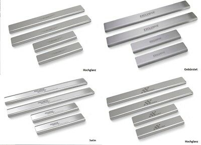 Door Sill Stainless Steel Suitable for VW Sharan from 2010