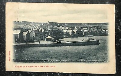 Eyemouth View From Golf Course 1904 RP Postcard