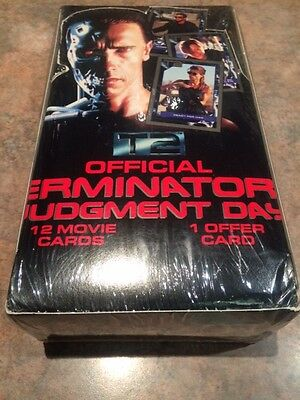 """L@@k Impel 1991 Terminator 2 """" Judgment Day """" Factory Sealed Box"""