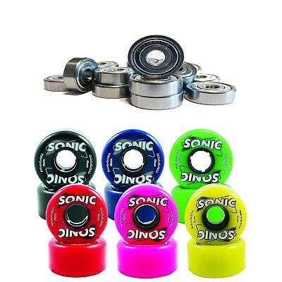 Speed Master 7 & Sonic Outdoor Roller Skate Wheels 85A 62Mm X 32Mm Set Of 8