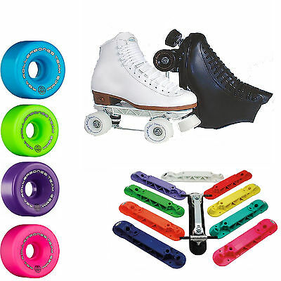 Colorful Customizable Indoor Rink Roller Skates Riedell 120 Sunlite Team