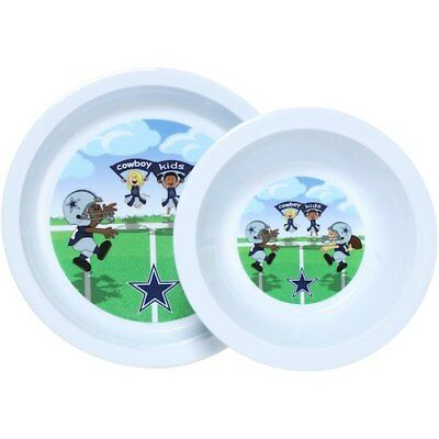 Dallas Cowboys Infant Plate and Bowl Set