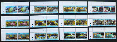 2 x Penrhyn 2013 Mi. 718-729 ** Fische Fish Sealife  Michel 140,-- €