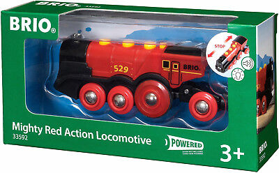 704988 BRIO® Lokomotive mit Soundfunktion, »Brio WORLD Rote Lola Batterielok neu