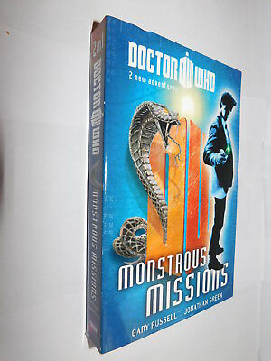 Doctor Who Monstrous Missions #5 Terrible Lizards & Horror Of Space Snakes PB