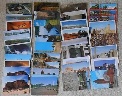 48 AFRICA postcards unposted unsent 4x6 #125 ALL  UNESCO WORLD HERITAGE SITES!!!