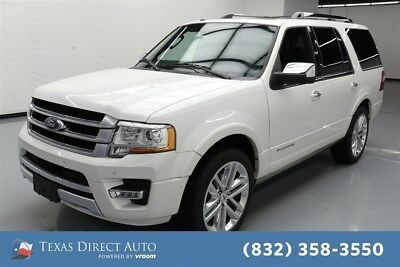 2015 Ford Expedition Platinum Texas Direct Auto 2015 Platinum Used Turbo 3.5L V6 24V Automatic RWD SUV