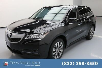 2015 Acura MDX Tech Pkg Texas Direct Auto 2015 Tech Pkg Used 3.5L V6 24V Automatic FWD SUV Premium