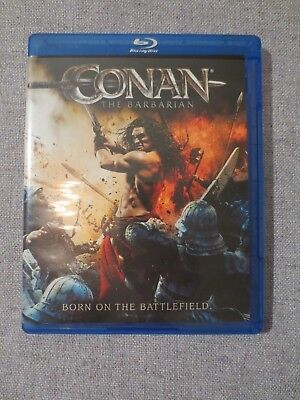 Conan The Barbarian (2011) Blu Ray Disc  - Looks Brand New!