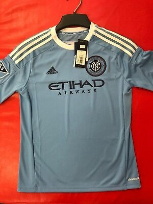 696df676a13a4 New Authentic Youth Adidas New York City FC Soccer Jersey Size Youth X-Large