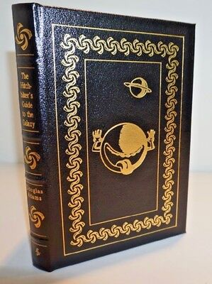 """The Hitchhiker'S Guide To The Galaxy"" By Douglas Adams, 1998 Easton Press"