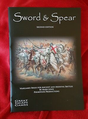 Sword and Spear Second Addition by Mark Lewis - Great Escape Games