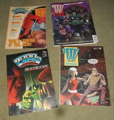 2000Ad Sci-Fi Special Comic Collection ~ 1986 / 1987 / 1988 / 1991