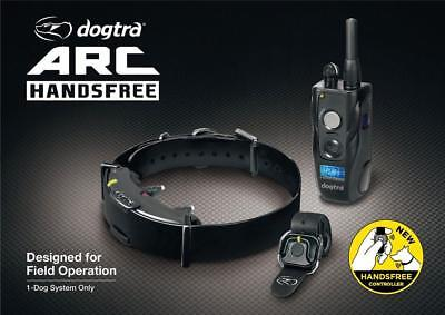 NEW Dogtra ARC HF HANDSFREE 3/4-Mile Remote Dog Training Controller Waterproof