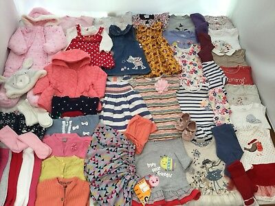 HUGE Baby Girls Clothes Bundle 3-6 months Autumn/Winter Collection