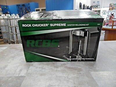 Rcbs Rock Chucker Supreme Master Reloading Kit 09361 810062
