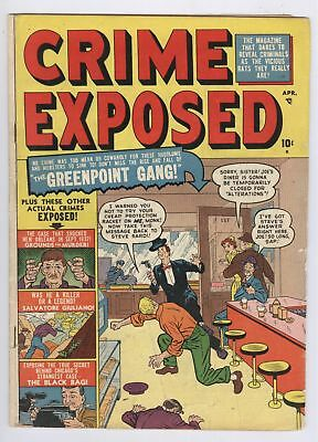 Crime Exposed Comic #3 (1951) VG Golden Age Prime Publications