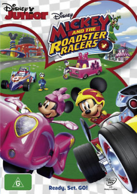 Mickey and the Roadster Racers = NEW DVD R4