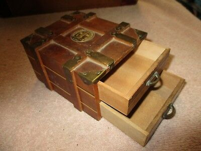 1939 Golden Gate Exposition wooden trinket box for coins or stamps