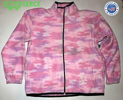 3bb3edab4f1 ZooFleece Pink Camouflage Women s Sweater Winter Jacket Tree Coat Hunting S -XL