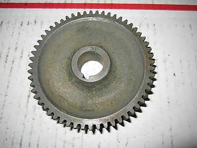 """Vintage South Bend 13 Metal Lathe Gear 56 Tooth 3/4"""" Bore 3/4"""" Thick 3 5/8"""" Dia"""