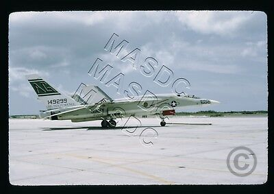 35mm Kodachrome Aircraft Slide - RA-5C Vigilante BuNo 149299 AG602 RVAH-9 in '74