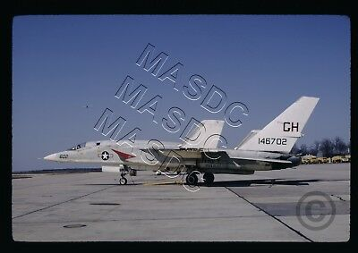 35mm Kodachrome Aircraft Slide - RA-5C Vigilante BuNo 146702 GH602 RVAH-1 in '70
