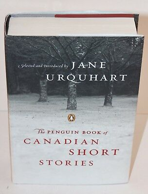 The Penguin Book of Canadian Short StorieS  Jane Urquhart signed by Alice Munro