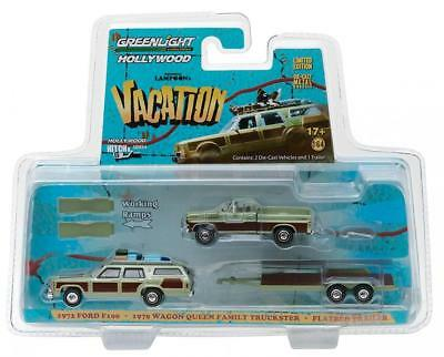 GreenLight 1:64 Hollywood Hitch & Tow Series 4-National Lampoon's Vacation...