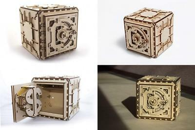Ugears 3d Puzzles For Adults Safe Mechanical Models Wooden Puzzle Brain...