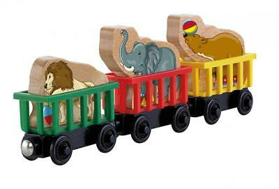 Fisher-Price Thomas & Friends Wooden Railway Circus Train 3 Pack