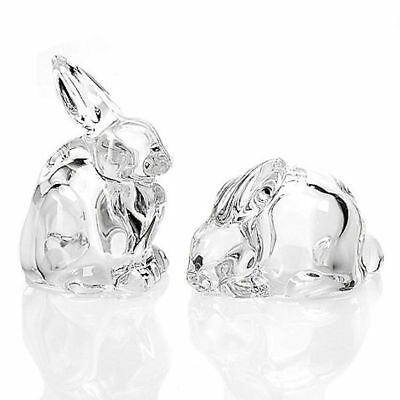 Marquis by Waterford 2-Piece Rabbit Crystal Salt & Pepper Shakers