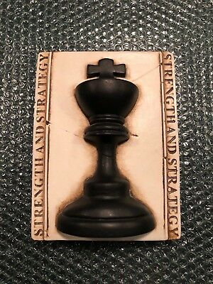 Sid Dickens T-53 Chess King Memory Block Tile - Excellent Condition!!!