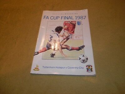 Tottenham Hotspur v Coventry City - FA Cup Final in 1987 at Wembley Magazine