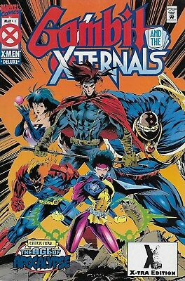 Gambit and the X-Ternals No.1 / 1995 Limited X-Tra Edition