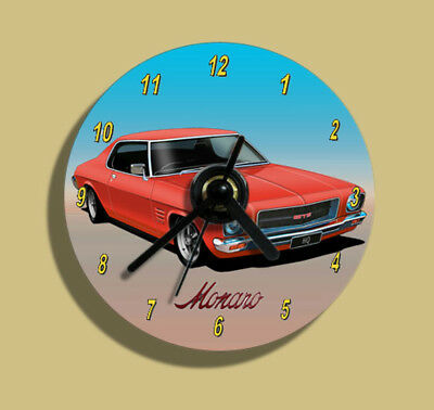 Holden HQ Monaro GTS Coupe ( red) CD Clock