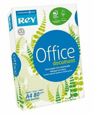 Rey Office A4 White Printer Paper 80gsm - 500 sheets per ream