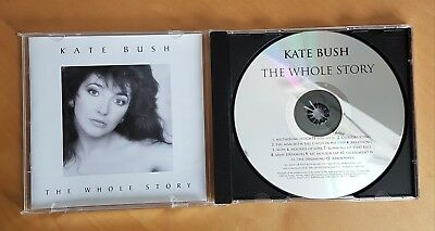 Kate Bush - The Whole Story/best Of - Cd Issued On Emi In 1986 - Ex.cond