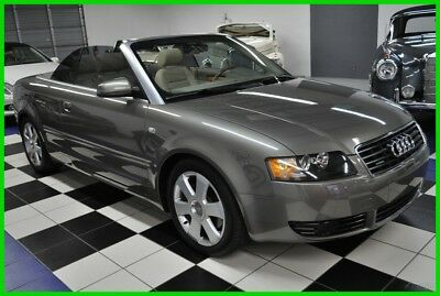 2006 Audi A4 3.0 AWD V6 - ONLY 61K MILES - QUATTRO - X-CLEAN 2006 3.0 - LOW MILES - GORGEOUS COLORS -CONVERTIBLE