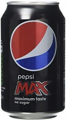 Pepsi Max 330ml Cans - Pack of 24