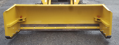 NEW 8' to 10' ADJUSTABLE SKID STEER/TRACTOR LOADER SNOW PUSHER BOX, PLOW BLADE