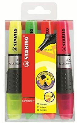 Stabilo Boss Luminator Highlighters Assorted Colours Pack of 4