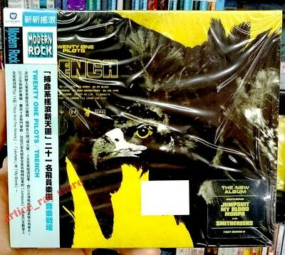 Twenty One Pilots Trench Taiwan CD OBI 2018 Jumpsuit Levitate NEW