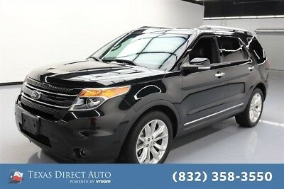 2015 Ford Explorer Limited Texas Direct Auto 2015 Limited Used 3.5L V6 24V Automatic FWD SUV Premium