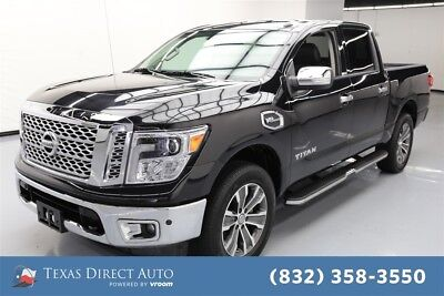 2017 Nissan Titan SL Texas Direct Auto 2017 SL Used 5.6L V8 32V Automatic 4WD Pickup Truck