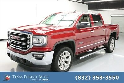 2018 GMC Sierra 1500 SLT Texas Direct Auto 2018 SLT Used 5.3L V8 16V Automatic RWD Pickup Truck Bose
