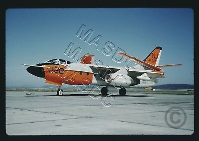 35mm Kodachrome Aircraft Slide - TA-3B Skywarrior BuNo 144867 NJ320 VAH-123 1962