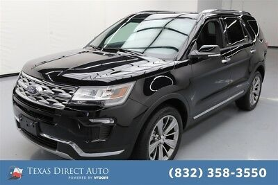 2018 Ford Explorer Limited Texas Direct Auto 2018 Limited Used 3.5L V6 24V Automatic 4WD SUV Moonroof