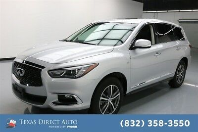 2018 Infiniti QX60  Texas Direct Auto 2018 Used 3.5L V6 24V Automatic FWD SUV Moonroof Premium